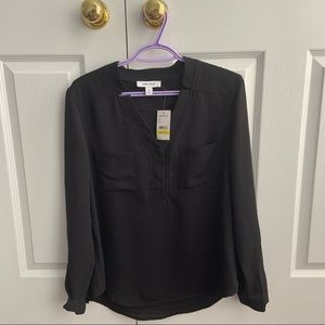 🎊 SALE 🎊 NWT black long sleeve blouse